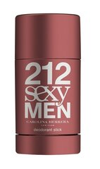 Dezodorants Carolina Herrera 212 Sexy Men 75 ml cena un informācija | Dezodorants Carolina Herrera 212 Sexy Men 75 ml | 220.lv