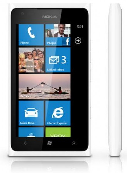 Nokia 900 Lumia White (Белый) цена и информация | Mobilie telefoni | 220.lv