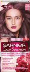 Ilgstoša matu krāsa Garnier Color Sensation 110 ml, 7.20 Light Amethyst