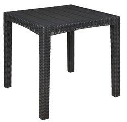 Āra galds Oler Dia, tumši pelēks cena un informācija | Dārza galdi | 220.lv