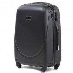 Средний чемодан Wings Goose, черный