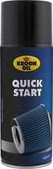 Līdzeklis dzinēja iedarbināšanai KROON-OIL Quick Start, 400 ml cena un informācija | Eļļas citām autodaļām | 220.lv