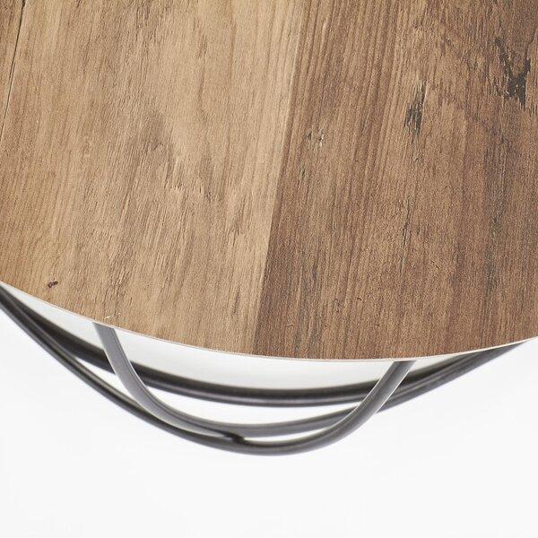 Kafijas galdiņš Nubira, ozola/melnas krāsas internetā
