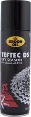 Smērviela velosipēdam aerosolā Kroon-Oil TefTec Dry season, 300ml cena un informācija | Velo instrumenti, kopšanas līdzekļi | 220.lv