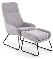 Krēsls ar paliktni kājām Bolero, pelēks