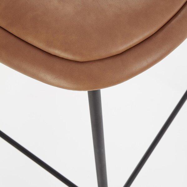 Комплект из 2 барных стульев Halmar H90, коричневый/черный