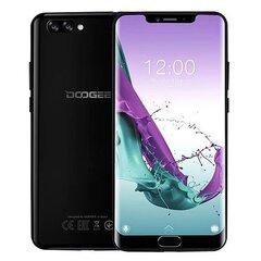Doogee Y7 Plus, 6/64 GB, Dual SIM, Melns