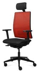 Офисное кресло Tronhill Work, красный/чёрный