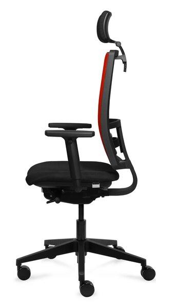 Офисное кресло Tronhill Work, красный/чёрный отзыв