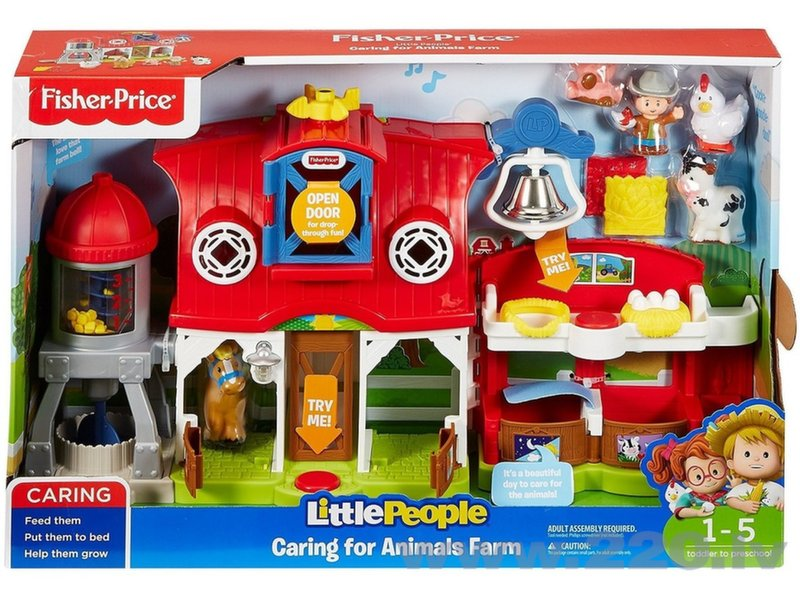 Mūzikas saimniecība (poļu valoda) Fisher Price Little People, FKD34