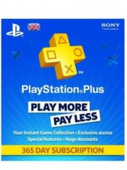 Sony PlayStation Plus 365 dienu abonements