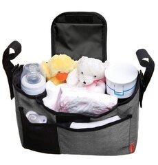 Ratiņu soma Dreambaby, grey