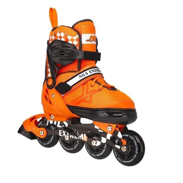 Роликовые коньки Nils Extreme NA13911 A, оранжевые