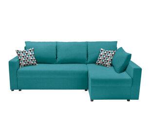 Universāls stūra dīvāns Przemek, zaļš cena un informācija | Stūra dīvāni | 220.lv