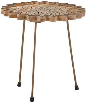Kafijas galdiņš Camelia 40, brūns