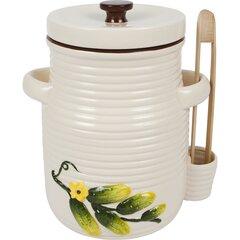 Keramikas trauks ar knaiblēm, 3 L