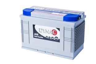 Dziļas izlādes akumulators Dynac AGM 105Ah