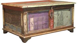 Kafijas galdiņš-kaste Glenn, krāsaina cena un informācija | Žurnālgaldiņi | 220.lv