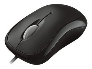 MS Basic Optical Mouse for Business PS2 USB black