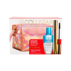 Acu kosmētikas komplekts Collistar: skropstu tuša Infinito + dubults acu un lūpu kosmētikas noņemšanas līdzeklis 50 ml
