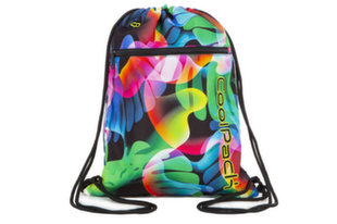 Maisiņš sporta apģērbam CoolPack VERT LED RAINBOW LEAVES A70210