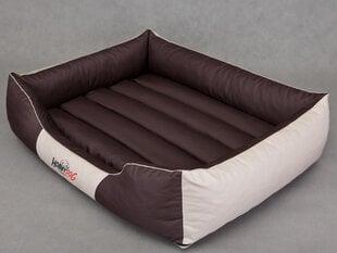 Hobbydog guļvieta Comfort L, brūna/krēmkrāsa