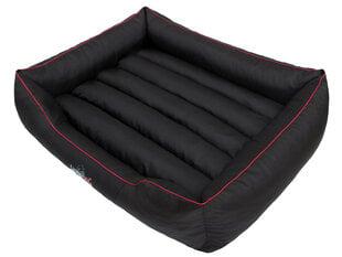 Hobbydog guļvieta Comfort XXL, melna ar apmali