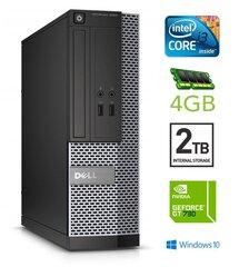 Dell 3020 SFF i3-4130 4GB 2TB GT730 2GB DVDRW WIN10Pro cena un informācija | Dell 3020 SFF i3-4130 4GB 2TB GT730 2GB DVDRW WIN10Pro | 220.lv