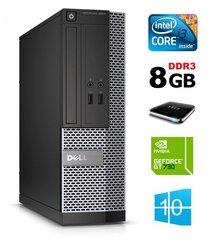 Dell 3020 SFF i3-4130 8GB 1TB GT730 2GB DVDRW WIN10Pro cena un informācija | Dell 3020 SFF i3-4130 8GB 1TB GT730 2GB DVDRW WIN10Pro | 220.lv