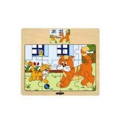 Koka puzle Kaķēni Woody, 93010, 12 d.
