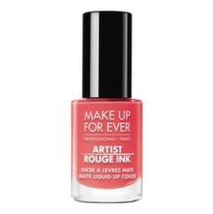 Šķidrā lūpu krāsa Make Up For Ever Artist Rouge Ink Matte 4,5 ml, 303 Pink Coral