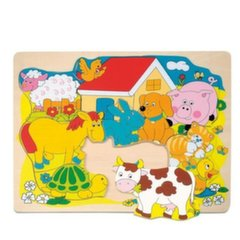 Koka puzle - ferma Woody 90340