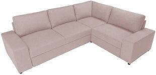 Stūra dīvāns BRW Liam, rozā cena un informācija | Stūra dīvāni | 220.lv