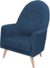Krēsls BRW Emilly, zils