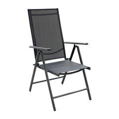 Āra krēsls, melns cena un informācija | Dārza krēsli | 220.lv