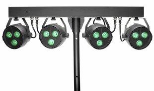 LED prožektoru komplekts Stagg SLB 4P34-41-2 cena un informācija | LED prožektoru komplekts Stagg SLB 4P34-41-2 | 220.lv