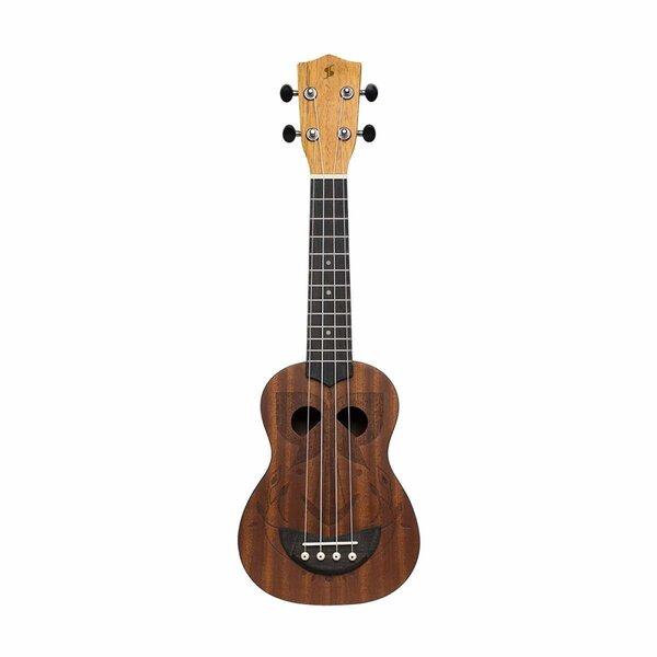 Soprano ukulele Stagg US-TIKI EH