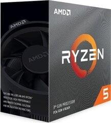 AMD Ryzen 5 3600, 4.2 GHz, 36 MB, BOX cena un informācija | Procesori (CPU) | 220.lv