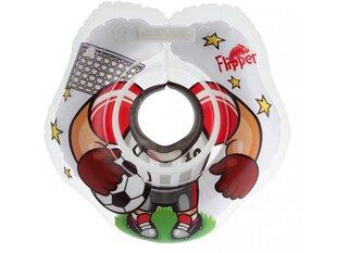 Peldēšanas riņķis zīdaiņiem ap kaklu 3D Futbolists Roxy Kids Flipper cena un informācija | Peldēšanas riņķis zīdaiņiem ap kaklu 3D Futbolists Roxy Kids Flipper | 220.lv