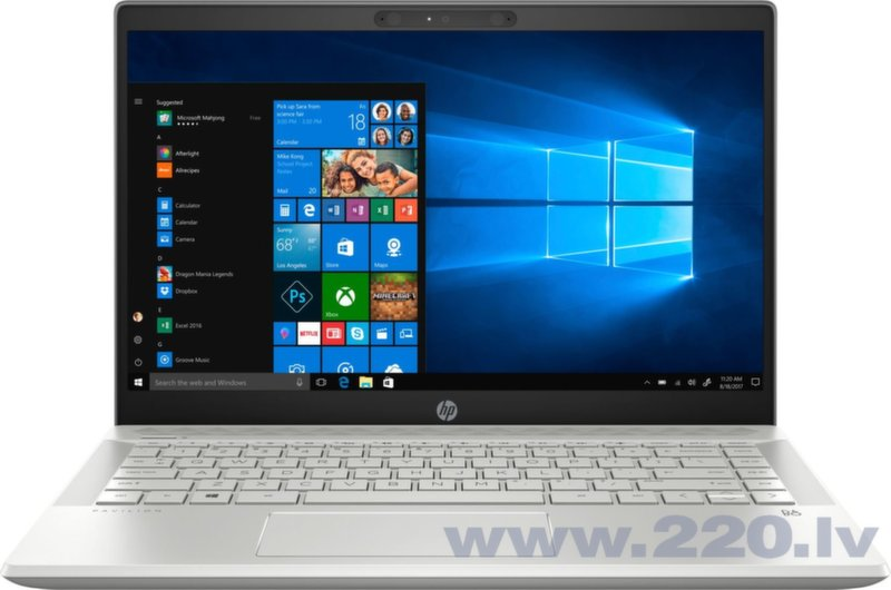 HP Pavilion 14 (7BQ27EA) 16 GB RAM/ 256 GB M.2 PCIe/ Windows 10 Home cena