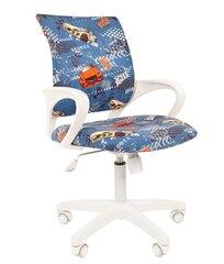 Детское кресло Chairman Kids 103 Автомобили, синее/белое