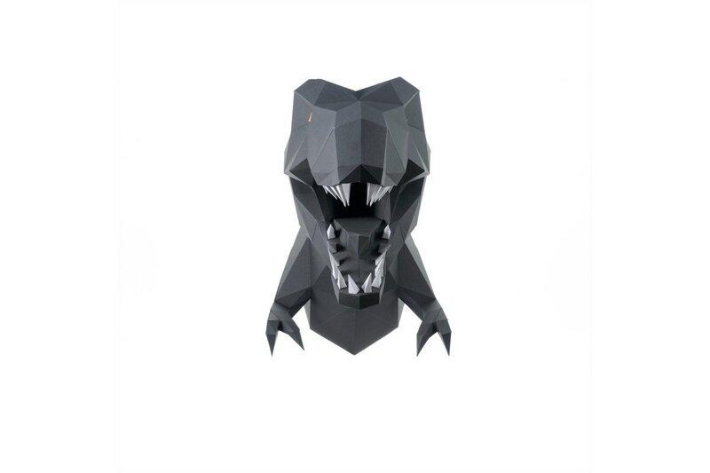 3D modelis no papīra WIZARDI PP-1DIZ-GRA internetā