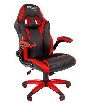 Игровое кресло Chairman Game 15, черное/красное цена и информация | Офисные кресла | 220.lv