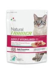 Tr.Natural cat ad steriliz.с вяленой ветчиной 7.5 кг