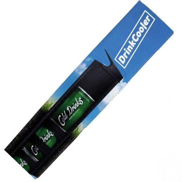 Dzērienu atdzesētājs ACO Drink Cooler, melns