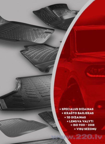 3D paklāji Rizline Nissan Qashqai 2014-tagad atsauksme