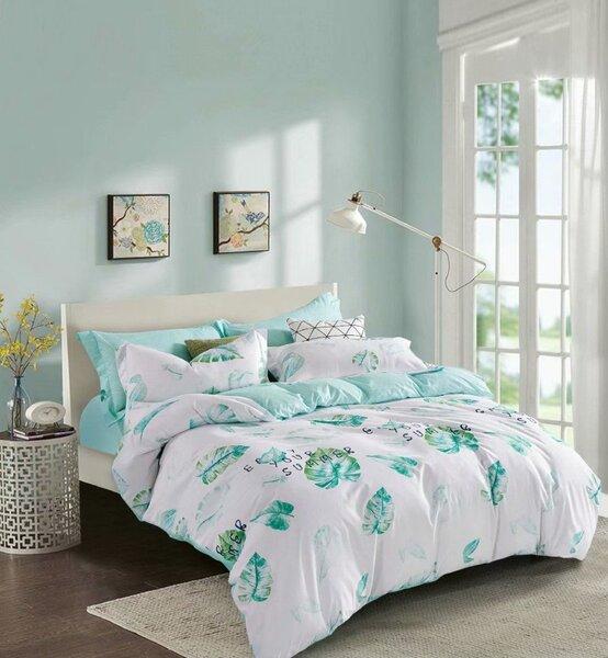 Divpusējs gultas veļas komplekts, 4 daļas