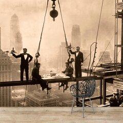 Fototapetes - Ņujorkas būvniecība