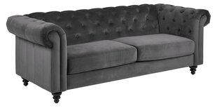 Dīvāns Charlietown Vic 3, pelēks cena un informācija | Dīvāni | 220.lv