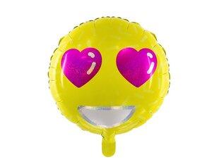 Folijas baloni Emoji - Love 45 cm, 50 gab.